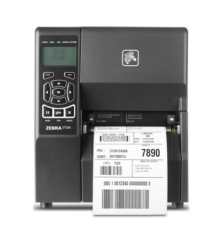 DIRECT THERMAL - Zebra ZT230 Industrial Label Printer, 203dpi