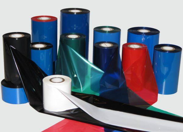 Black - High Performance Ribbons (small printer) 110mm x 74M