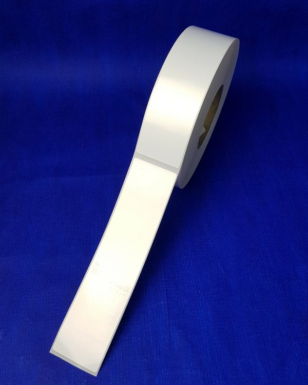 Long Adhesive Vehicle labels ( 50mm x 210mm) 800 per roll