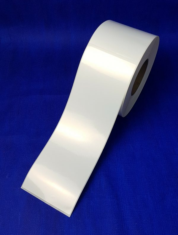 Extra Long Adhesive Vehicle labels ( 100mm x 300mm) 500 per roll