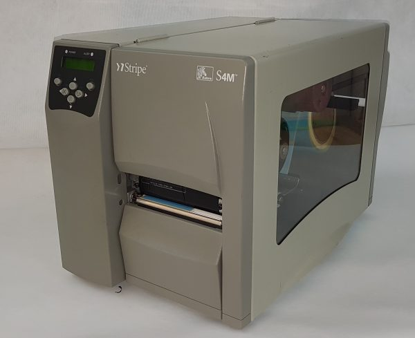 THERMAL TRANSFER Zebra S4M (Refurbished) industrial Label Printer, 200dpi - USB only