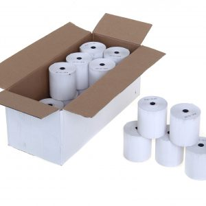 Thermal Paper Receipt Rolls (box of 20) 57 x 38mm x 5mm core