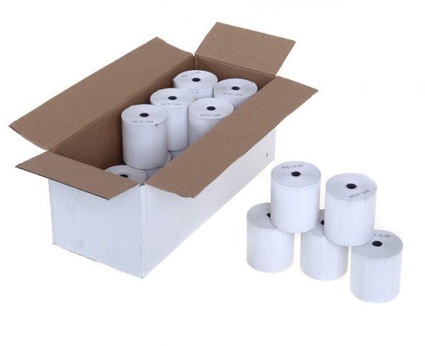 Thermal Paper Receipt Rolls (box of 20) 57 x 38mm x 5mm core